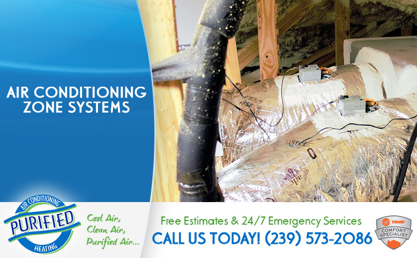 Air Conditioning Zone Systems in and near Cape Coral Florida
