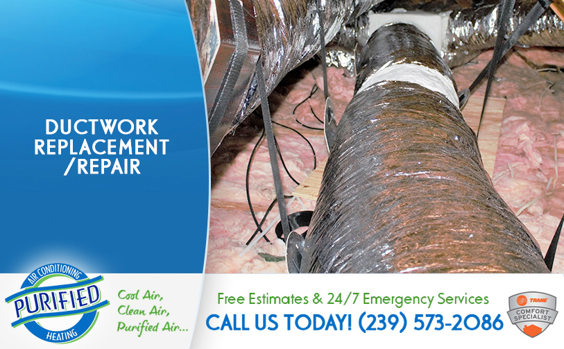 Ductwork Replacement/ Repair in and near Fort Myers Florida