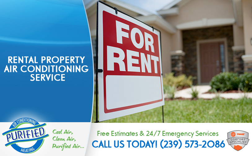 Rental Property Air Conditioning Service in and near Fort Myers Florida