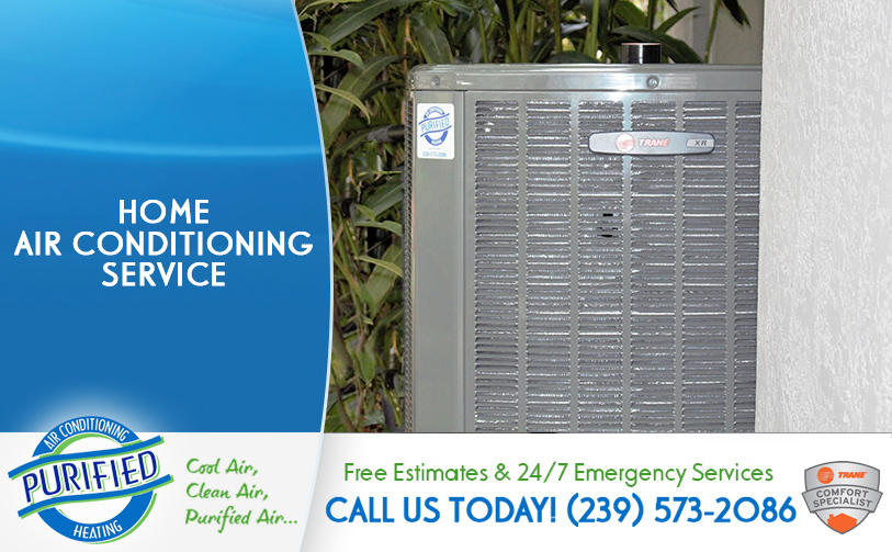 Home Air Conditioning Service in and near North Fort Myers Florida