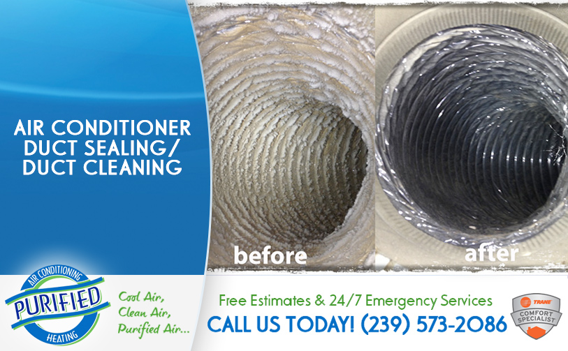 Air Conditioner Duct Sealing / Duct Cleaning in and near Florida
