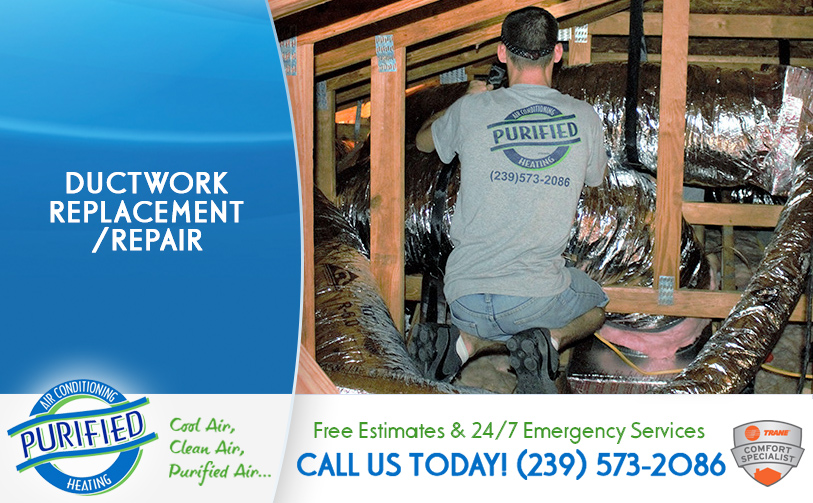 Ductwork Replacement/ Repair in and near Florida